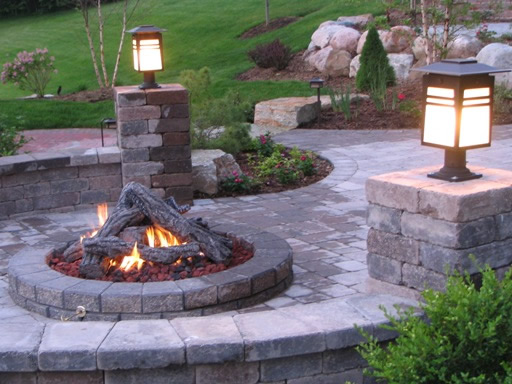 Anniston fireplace and patio these deluxe pit kits have everything for a do it yourself remote control outdoor fire once you follow the easy installation instructions you will be able solutioingenieria Choice Image